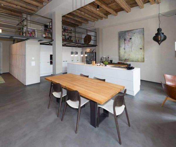 Architektur- und Immobilientfotografie: offener Wohn-Essbereich