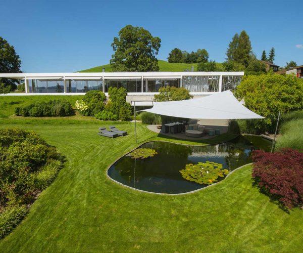 Architektur- und Immobilientfotografie Fotostudio Konstanz: Hochstativ