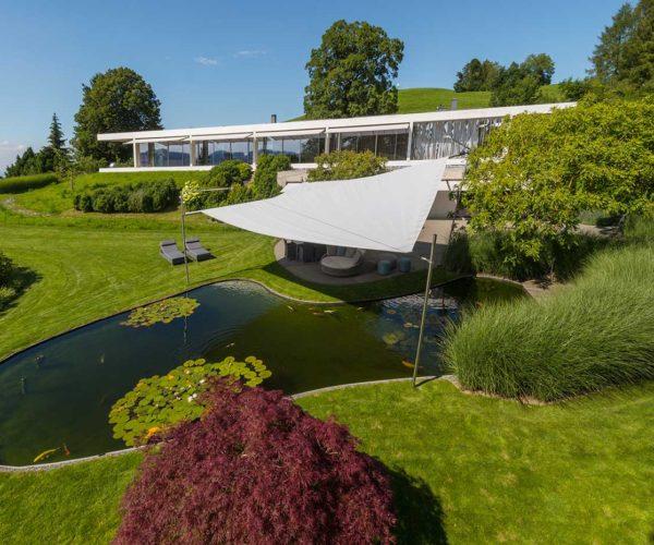 Architektur- und Immobilientfotografie Fotostudio Konstanz: Drohne