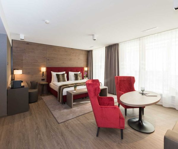 Architektur- und Immobilientfotografie Fotostudio Konstanz: Hotelzimmer