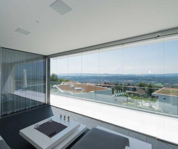Architektur- und Immobilientfotografie Fotostudio Konstanz _ Dachterrasse