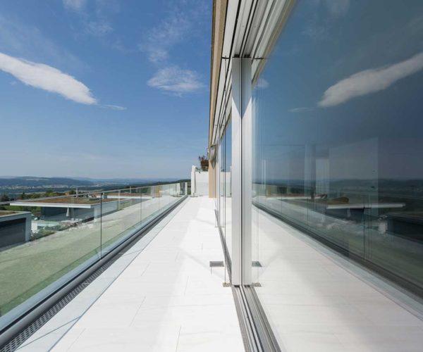 Architekturtfotografie Fotostudio Konstanz _ Glasfront