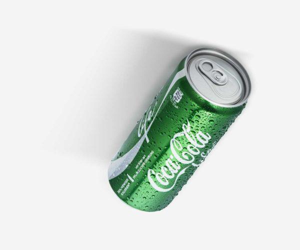 Produktfotografie: Packshot von Coca Cola